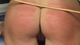CMNF - Spanking Pauline - Vintage Humiliating BDSM scenes