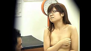 Doctor touches schoolgirl&#39s tits a little bit more
