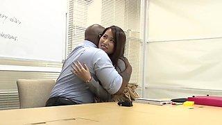 Black English Teacher - Tsuno Miho