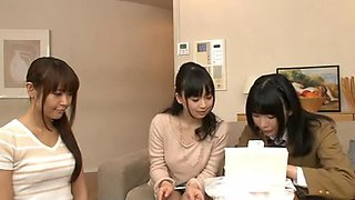 Japanese Lesbians (Maids taking care of all house needs)