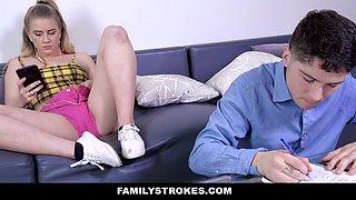 Taylor Blake in Horny Stepsister Homework - FamilyStrokes