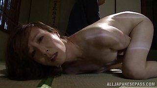 Reiko Sawamura hot Asian milf enjoys bondage sex