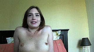 Hairy babe rides big black cock