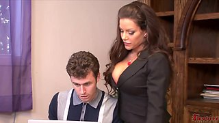 Victoria Valentino - Gets Pussy Fucked By Boss
