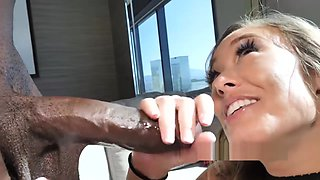 korean christy Love taking bbc chocolate