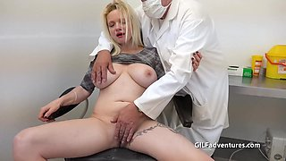 Doctor And Nurse Play With Their Patient