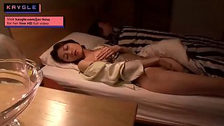 Hot horny Japanese milf fucking road sweeper cum on face
