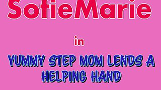 Alex Jett And Sofie Marie In Yummy Stepmom Lends Son A Helping Hand