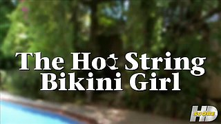 The Hot String Bikini Girl