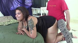 Hot Brazilian BBW Needs Big Black Cock with Girth. Ass4days