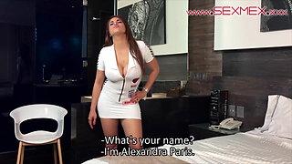 Casting of Alexandra Paris