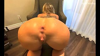 Mrs. dee takes a monster in her ass