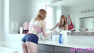 Romantic redhead lauren phillips cannot wait to start sex