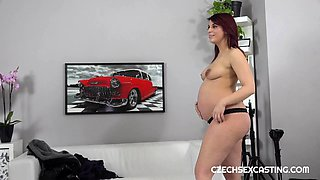 Casting for pregnant redhead