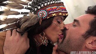 Sexy Indian slut Ariella fucking hard