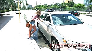 Extreme brutal gangbang hd Fed up with waiting for a taxi naive young tourista Liza Rowe