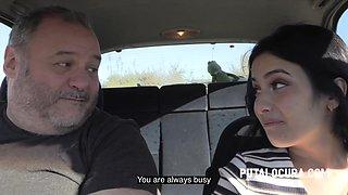 Maria Teen - Sex In The Car
