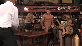 Intense Orgy Session With Smoking Hot Bombshells