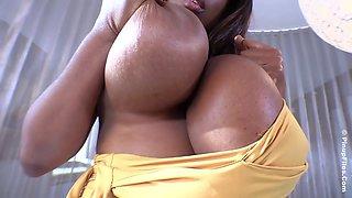 Huge black titties