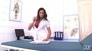 Buxom Nurse Gets Bonked Hard - Sensual Jane