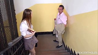 Sexy College Girl Gets Fucked By Professor For Extra Credit