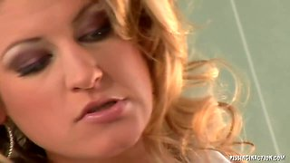 Sharon Pink And Kristina Blond In And Get Fucked And Pissed On