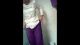 granny panty toilet