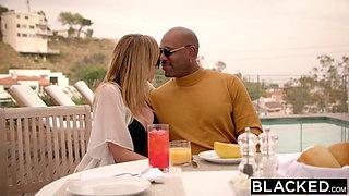 BLACKED Brett Rossi Scared From Her Ex Big Black Boss Protec