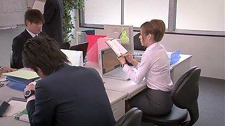 Exotic Japanese girl in Amazing Cougar, Public JAV clip