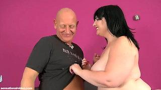 British Chubby Busty Big Ass Mature