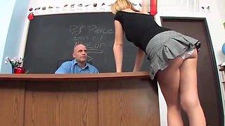 Lexi belle school girl fucked on table