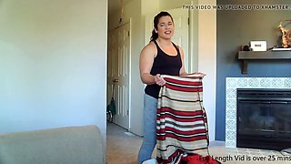 Mom &amp son facefuck plastic wrap mummy preview clip