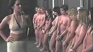 Russian Slave Harem - Nude Slave Picked From Line Up