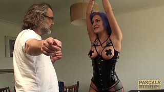 PASCALSSUBSLUTS - Big tits Alexxa Vice Tied And Anal Drilled