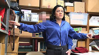 ShopLyfter - Teen Gets Humiliated By LP Officers Cock