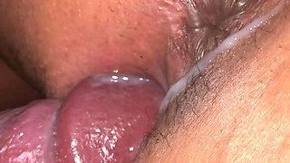 Creampie latino milf