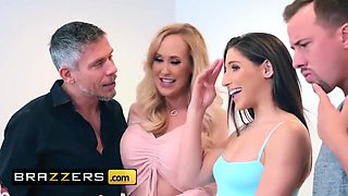 Brandi Love And Abella Danger In Older Swingers Teach Younger Couple A Thing Or Two