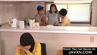 Hot Japanese Mom And Horny Stepsons