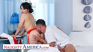 Naughty america nurse valentina takes extra care of her patient
