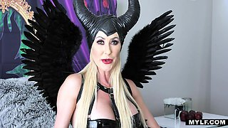Brandi Love dresses up as Maleficent for a steamy fuck with her boyfriend