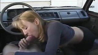 homemade blowjob in a car loads of sperm