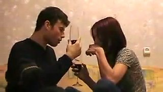 Kinky couple has anniversary and slutty GF is ready to be fucked well