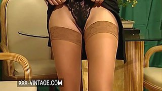 Elodie Cherie Vintage Anal Sex And Hairy Pussy