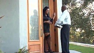 Big, Sexy Tits Angela Aspen gets pleasured by a huge black cock