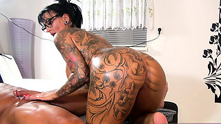 german big tits tattoo mature milf seduced rimjob massage