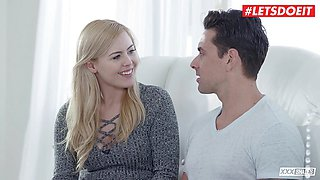 LETSDOEIT - Blonde First Time Sex With New Boyfriend