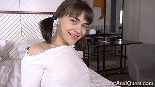 Petite russian teen beau rose loses anal virginity