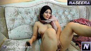 Arab Moroccan Muslim Girl on Webcam at Naseera