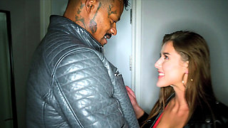 BLACKEDRAW Horny Model Meets BBC and Gets Dominated