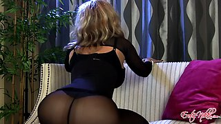Tight milf ass in pantyhose